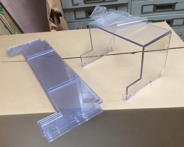 ペット樹脂機械カバー