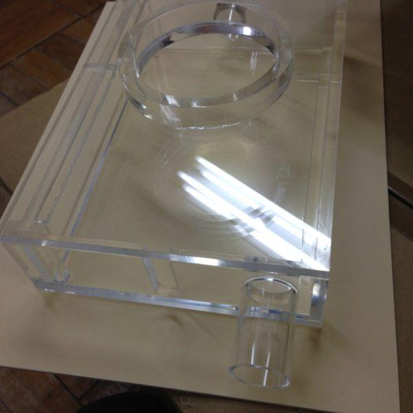 アクリル実験用装置