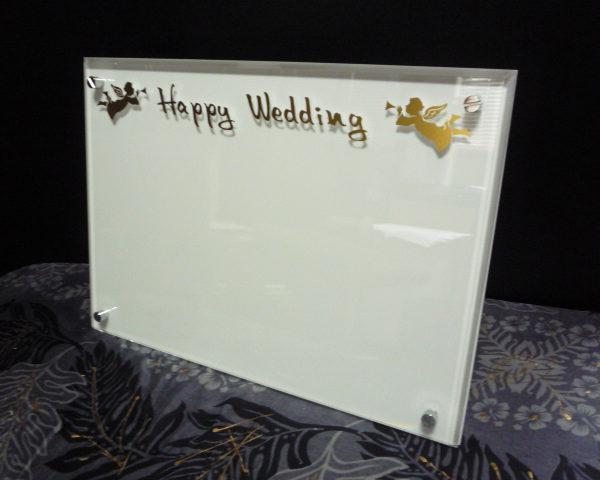 結婚祝い アクリル写真台